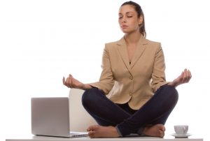 mindfulness lady