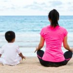 mother son mindfulness for calendar